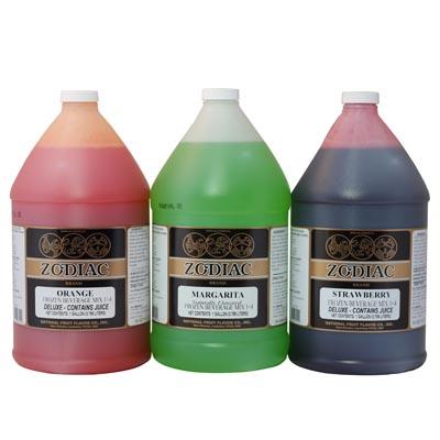 Zodiac frozen beverage syrup