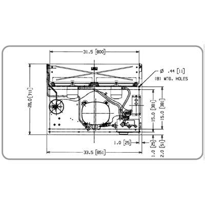 Remote Condensing Unit, Model RCU