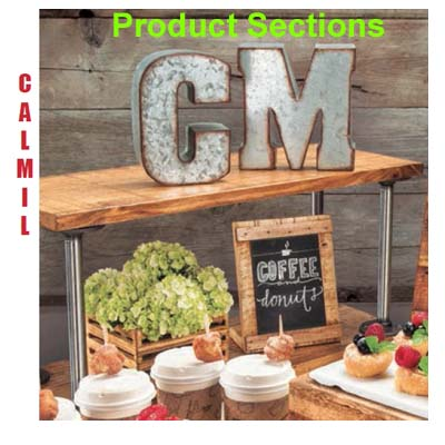 Cal-MIl Product Sections