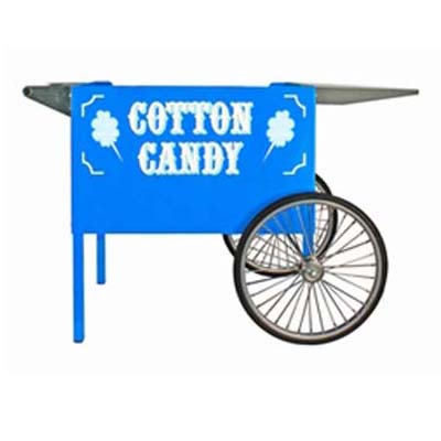 Blue Deep Well Cotton Candy Cart