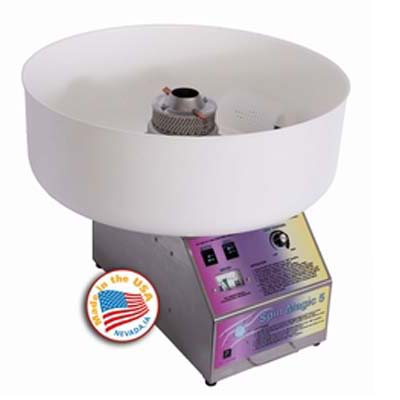 Spin Magic Cotton Candy Machine W/Plastic Bowl