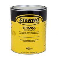Sterno Ethanol Gel, 4 x 1 Gallon, Item 20110