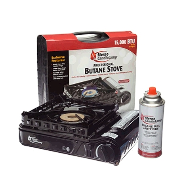 Sterno Portable Butane Stove - 15,000 BTU